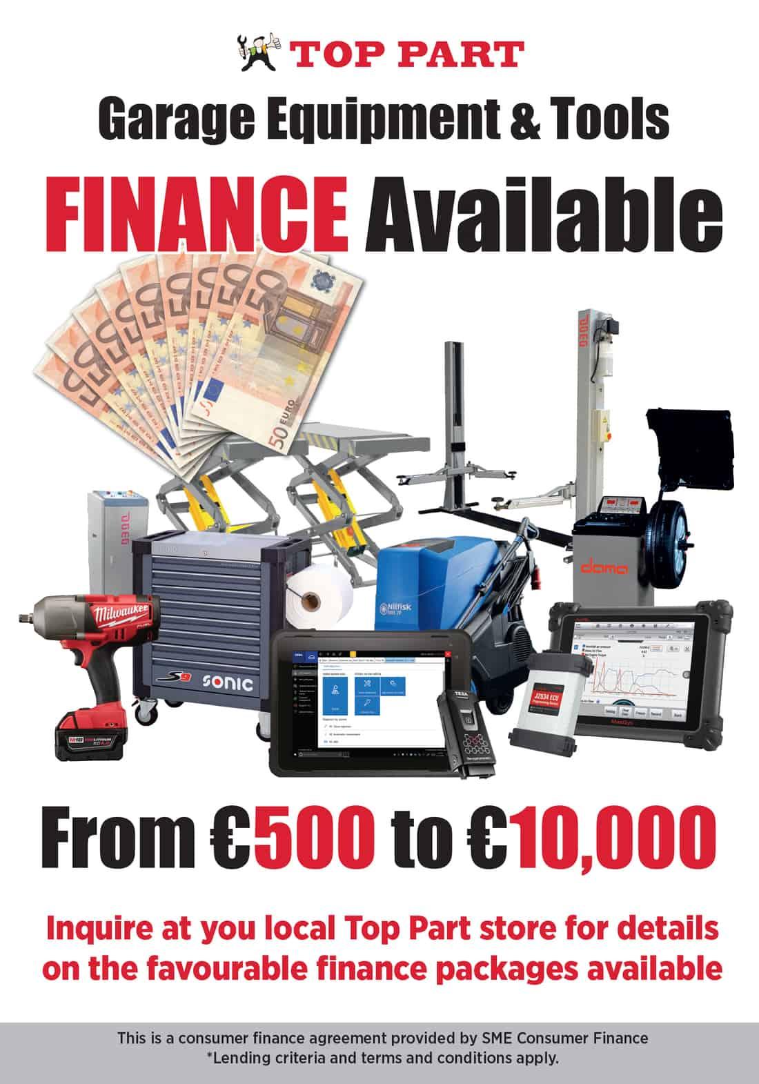 equipment finance page